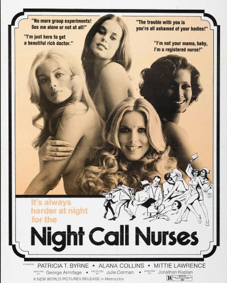 Night Call Nurses (1972) cover