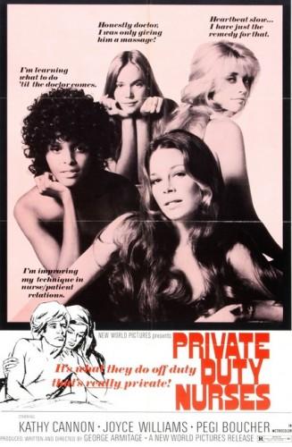 Private Duty Nurses (1971) cover
