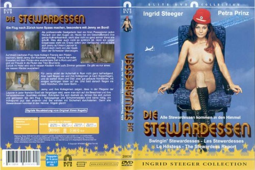 Stewardesses Report (1986) cover