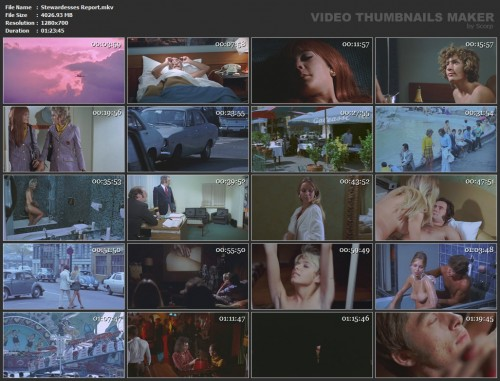 Stewardesses Report (1986) screencaps