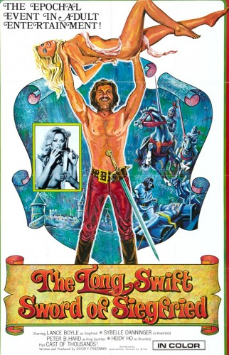 The Long Swift Sword of Siegfried (1971) cover