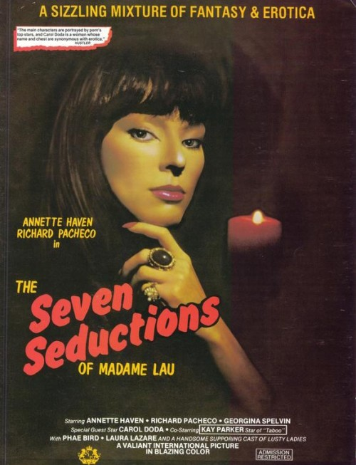 The Seven Seductions (1981) cover