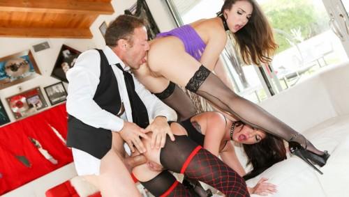 RoccoSiffredi.com - Tiffany Tyler, Cassandra Nix (Slutty Girls Love Rocco 9, Scene 1) cover