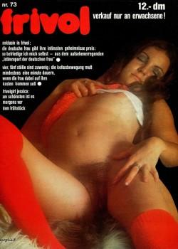 frivol 73 (Magazine) cover