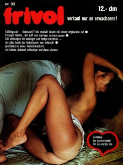 frivol 83 (Magazine) cover