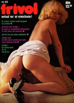 frivol 92 (Magazine) cover