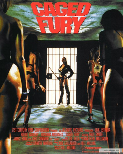 Caged Fury (1990) cover