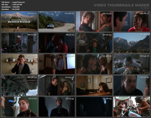 Caged Fury (1990) screencaps