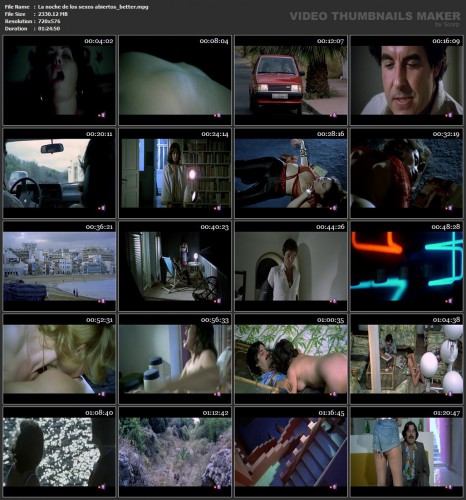 La noche de los sexos abiertos (Better Quality) (1983) screencaps