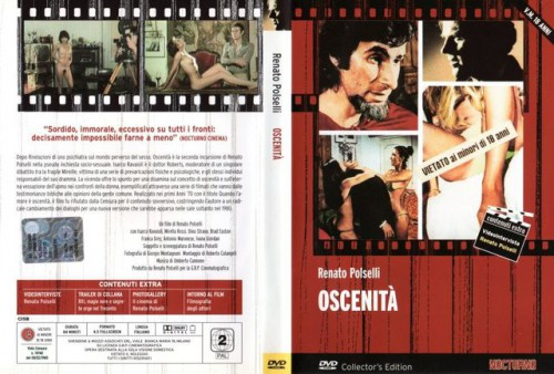 Oscenita (1980) cover