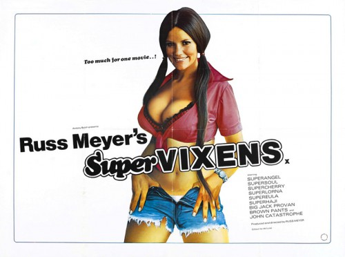 Supervixens (1975) cover