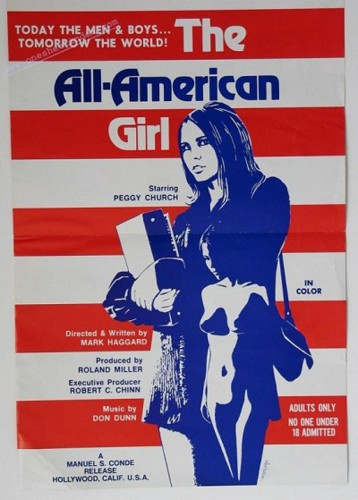 The All-American Girl (1973) cover