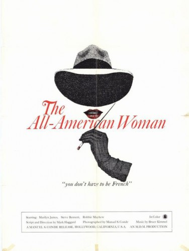 The All-American Woman (1976) cover