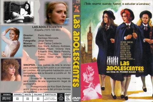 Las adolescentes (1975) cover