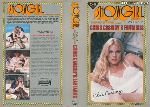 Showgirl Superstars 13 - Cris Cassidy's Fantasies (1982) cover