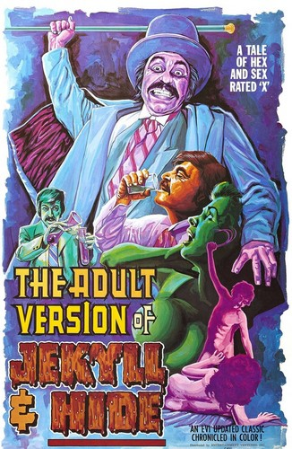 The Adult Version of Jekyll & Hide (1972) cover
