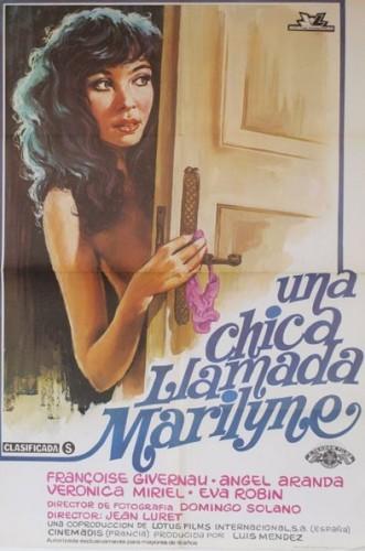 Una chica llamada Marilyne (1980) cover