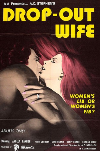 Drop Out Wife (1972) cover