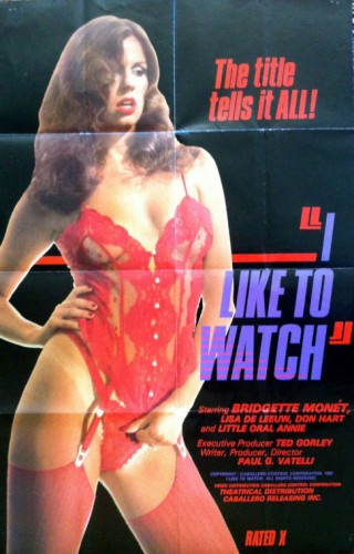 I Like to Watch (1982) cover
