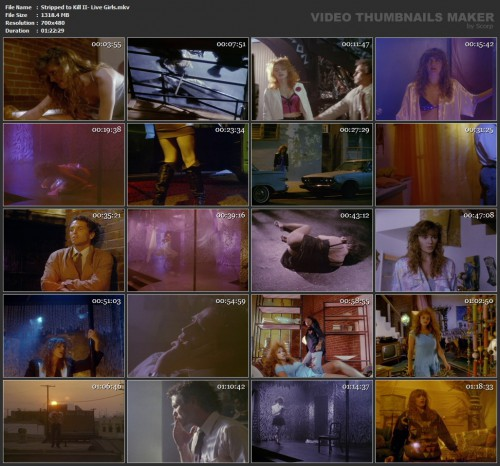 Stripped to Kill II: Live Girls (1989) screencaps