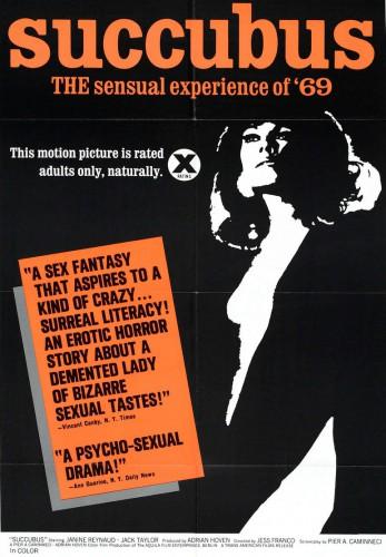 Succubus (1968) cover