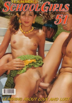 Teenage Schoolgirls 51 (Magazine) cover