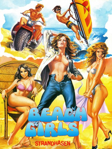 The Beach Girls (Better Quality) (1982) cover