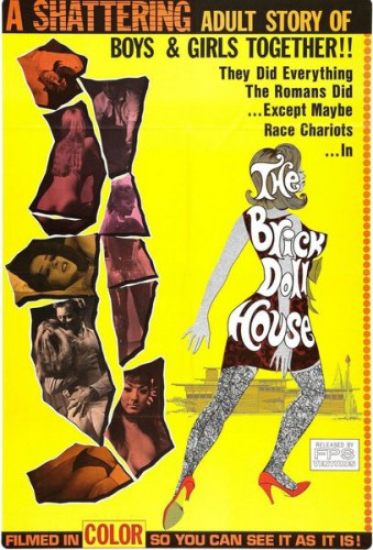 The Brick Dollhouse (Better Quality) (1967) cover