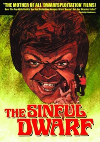 The Sinful Dwarf (1973) cover
