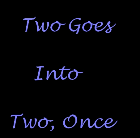 Two Goes Into Two Once (1970) cover
