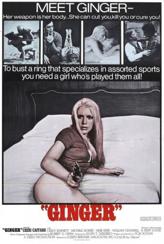 Ginger (1971) cover