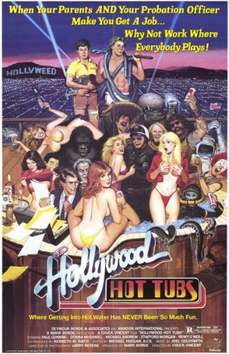 Hollywood Hot Tubs (1984) cover
