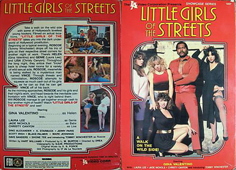 Little Girls of the Streets (1984) cover