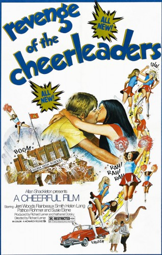 Revenge of the Cheerleaders (BDRip) (1976) cover