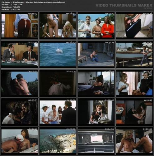 Urlaubsreport - Woruber Reiseleiter nicht sprechen durfen (1971) screencaps