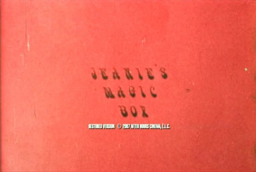 Jeanies Magic Box (1972) cover