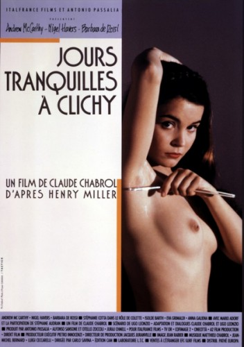 Jours tranquilles a Clichy (1990) cover