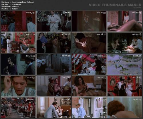 Jours tranquilles a Clichy (1990) screencaps