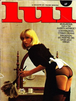 LUI France 11 (1975) (Magazine) cover