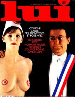 LUI France 01 (1981) (Magazine) cover