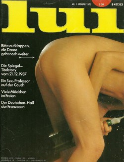 LUI German 01 (1978) (Magazine) cover