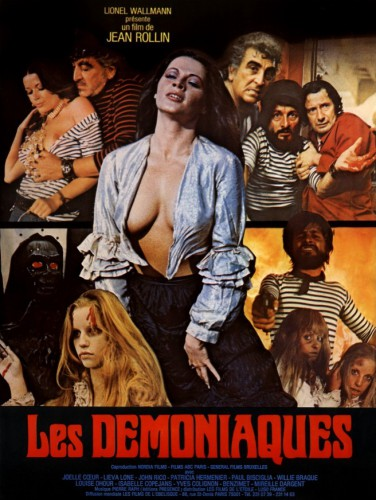 Les Demoniaques (Better Quality) (1974) cover