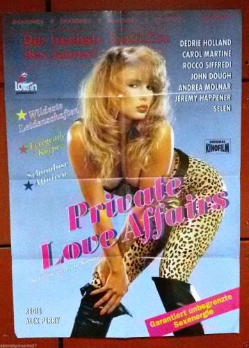 Private Love Affairs (1993) cover