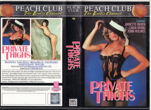 Private Thighs (1987) cover
