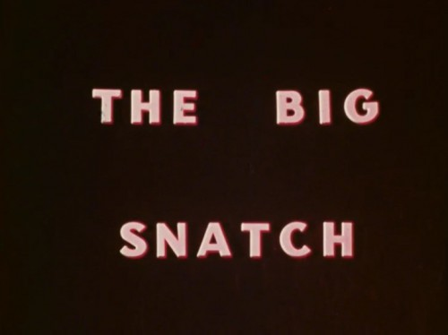The Big Snatch (1971) cover