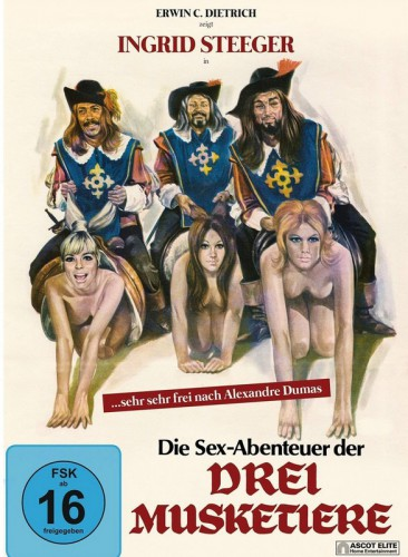 The Sex Adventures of the Three Musketeers (1971) cover