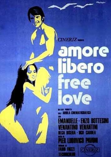 Amore libero - Free Love (1974) cover