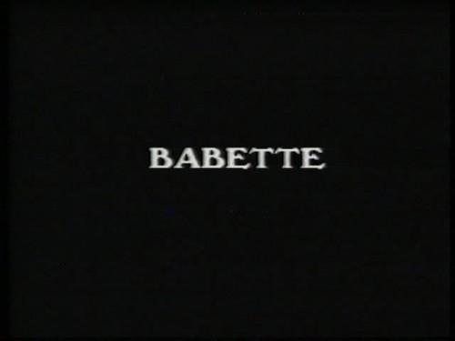 Babette (1983) cover