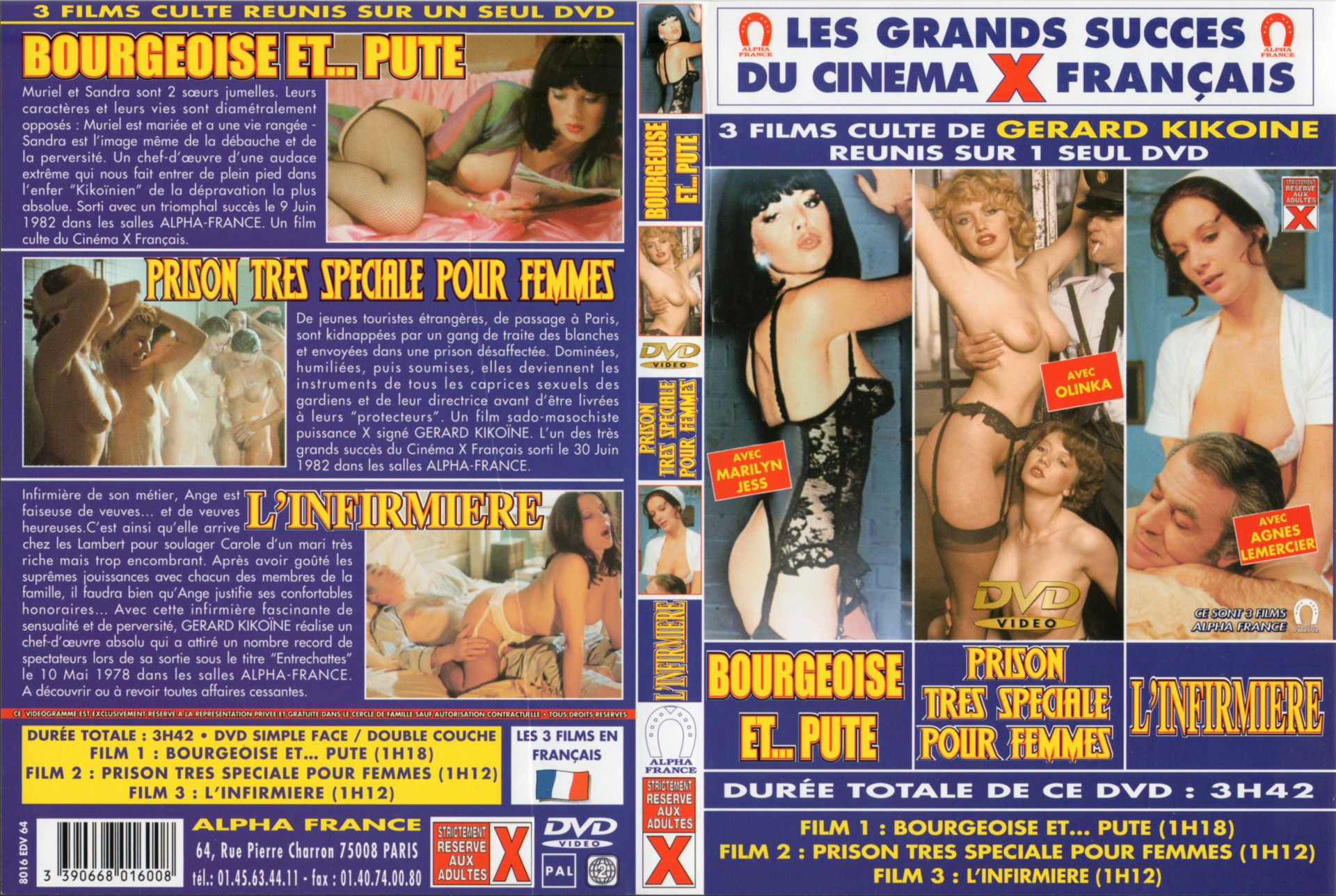 Alpha France  French Porn  Full Movie  Secrets D