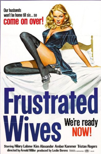 Frustrated Wives (1974) cover